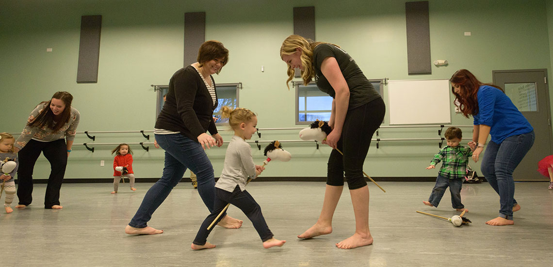 Mom and Tot dance classes