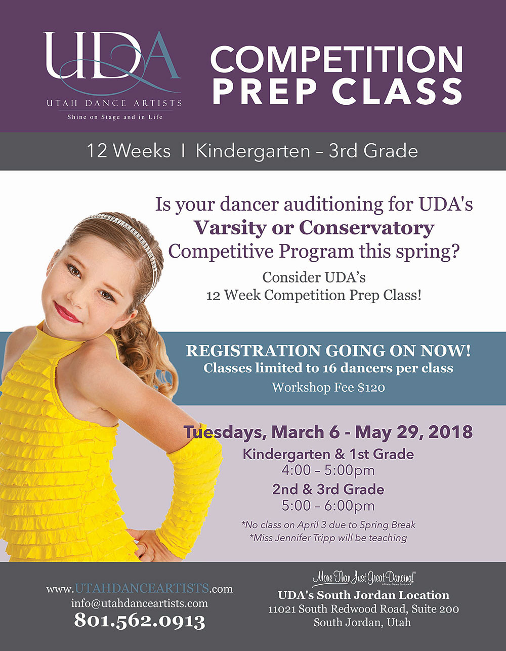 UDA Competition Prep Classes